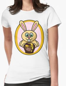 Honey Bunny Womens Fitted T-Shirt