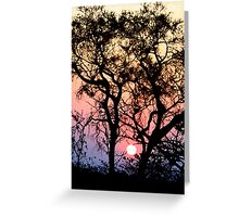 I dream of an African sunset... Greeting Card