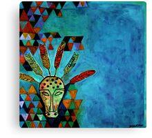Pythagoras Among the Wolves Canvas Print