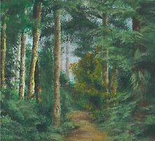 Deer Trail by Arlyta