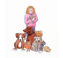 Rescue animals Photographic Print