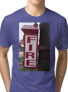 Fire Alarm pull box 3233 #2 Tri-blend T-Shirt