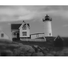 Favorite LightHouse in B&W! Photographic Print