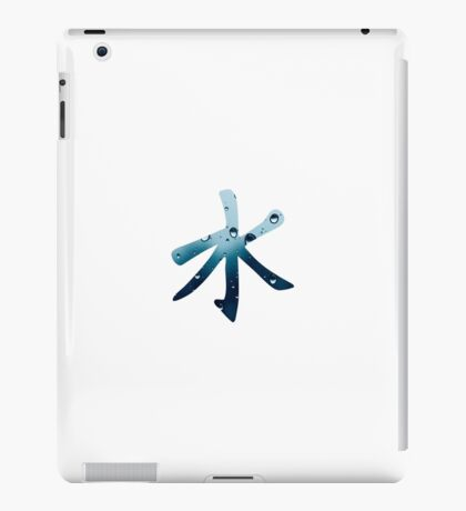 Water Kanji iPad Case/Skin
