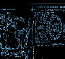 Neon JD Whiskey by ANDREW BARKE