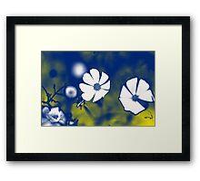 Anemone Flower Psychedelia Framed Print