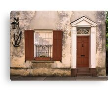 Charleston Flat Canvas Print