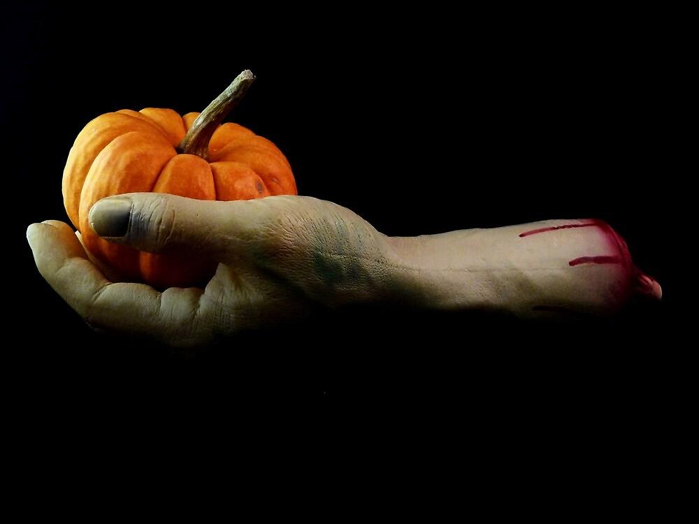 Happy Halloween by Barbara Morrison