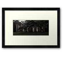 Old Sheldon Church 13 Framed Print