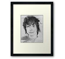 Frodo Baggins LOTR Framed Print