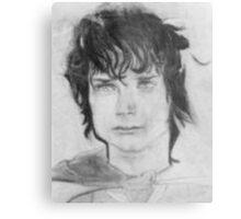 Frodo Baggins LOTR Metal Print