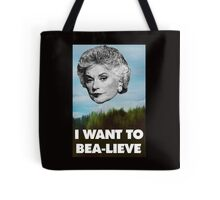I Want to Bea-lieve Tote Bag