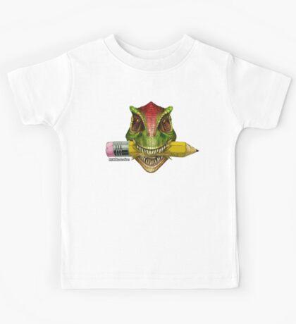 Dino Art Crunch Kids Tee