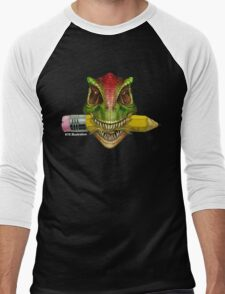 Dino Art Crunch Men's Baseball ¾ T-Shirt