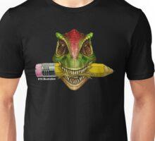 Dino Art Crunch Unisex T-Shirt