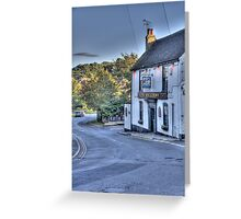 The Rose and Crown,Shorne Greeting Card