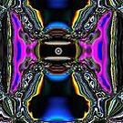 Shine On You Crazy Fractal by Deborah Lazarus