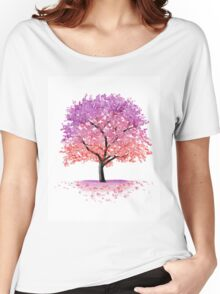 Blossom Tree Women's Relaxed Fit T-Shirt