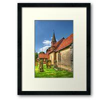 St Giles Church Ickenham Framed Print