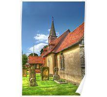 St Giles Church Ickenham Poster