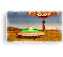 The UFOs of Eater Island by Raphael Terra Canvas Print