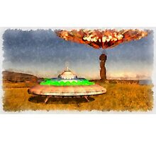 The UFOs of Eater Island by Raphael Terra Photographic Print