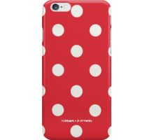 Red Polka Dot iPhone Case/Skin