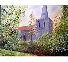St.Mary the Virgin church West Malling Photographic Print