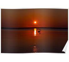 Sunrise Tuggerah Lake 26-9-2010.NSW,Australia. Poster