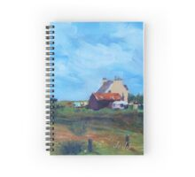 Cottage, isle of Lewis, Outer Hebrides Spiral Notebook