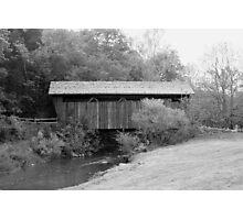 Indian Creek Covered Bridge Photographic Print
