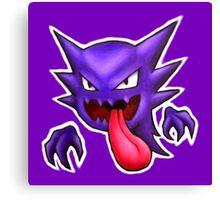 Haunter Icon - Pokemon Canvas Print
