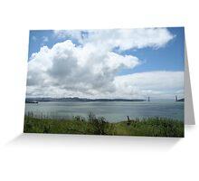 San Francisco Bay Golden Gate Greeting Card