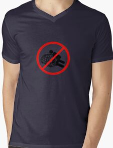 Don't fuck my brain! Mens V-Neck T-Shirt