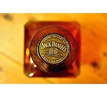 Jak Daniels Single Barrel Photographic Print