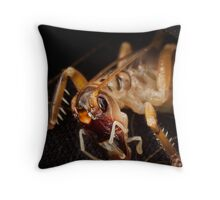 Alien Hopper Throw Pillow