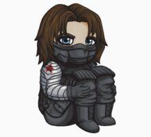 Bucky Barnes / Winter Soldier Chibi Kids Clothes