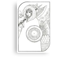 Wheel of Fortune - Tarot Card Metal Print