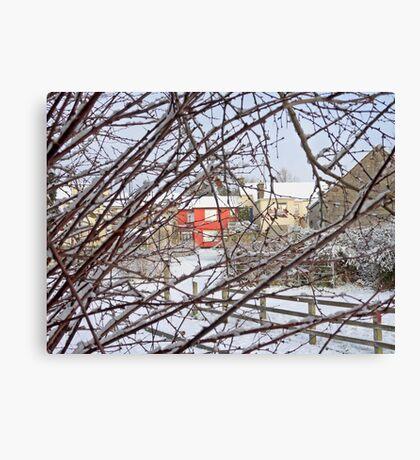 The Coldest Winter #3 Canvas Print