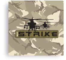 Air Strike Canvas Print