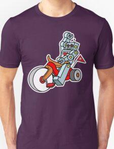 hot wheeling robot love 2 T-Shirt