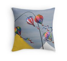 Balloon Fest 2010 Throw Pillow