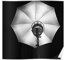 Studio light -Foco de estudio- Poster