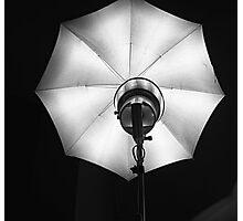 Studio light -Foco de estudio- Photographic Print
