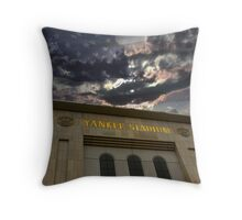 Yankee Stadium, NY Throw Pillow