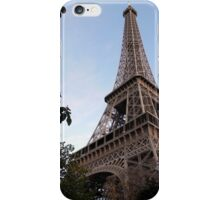 Eiffel Tower at Dusk iPhone Case/Skin