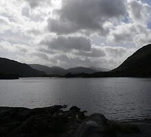 Moody Evening,Killarney National Park,Co.Kerry,Ireland. by Pat Duggan