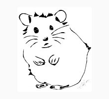 Hamster Minimalist Sketch  Unisex T-Shirt