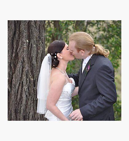 Mr and Mrs Hanna Photographic Print