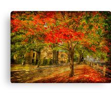 First signs of fall  II Canvas Print